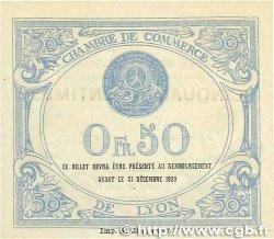 50 Centimes FRANCE régionalisme et divers LYON 1919 JP.077.18 NEUF