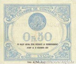 50 Centimes FRANCE régionalisme et divers LYON 1919 JP.077.18 TTB