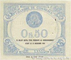 50 Centimes FRANCE régionalisme et divers Lyon 1920 JP.077.20 TTB