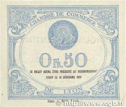 50 Centimes FRANCE régionalisme et divers LYON 1920 JP.077.20 pr.NEUF
