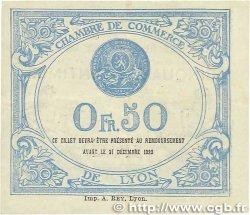 50 Centimes FRANCE régionalisme et divers Lyon 1920 JP.077.22 TTB