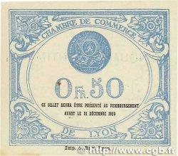 50 Centimes FRANCE régionalisme et divers Lyon 1920 JP.077.22 pr.NEUF