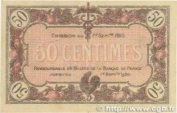 50 Centimes FRANCE régionalisme et divers Macon, Bourg 1915 JP.078.01 SUP
