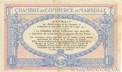 1 Franc FRANCE régionalisme et divers Marseille 1917 JP.079.64 TB