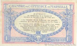 1 Franc FRANCE régionalisme et divers Marseille 1917 JP.079.64 TTB