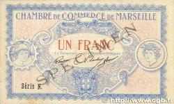 1 Franc FRANCE régionalisme et divers MARSEILLE 1917 JP.079.65 TTB+