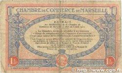 1 Franc FRANCE régionalisme et divers MARSEILLE 1917 JP.079.70 B+