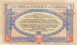 1 Franc FRANCE régionalisme et divers MARSEILLE 1917 JP.079.70 TTB