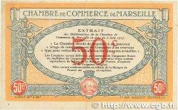 50 Centimes FRANCE régionalisme et divers MARSEILLE 1917 JP.079.67 TTB