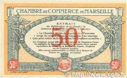 50 Centimes FRANCE régionalisme et divers MARSEILLE 1917 JP.079.67 pr.NEUF