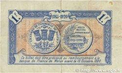 1 Franc FRANCE régionalisme et divers MELUN 1915 JP.080.03 TB