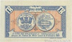1 Franc FRANCE régionalisme et divers Melun 1915 JP.080.03 TTB