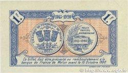 1 Franc FRANCE régionalisme et divers Melun 1915 JP.080.03 SUP