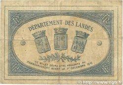 1 Franc FRANCE régionalisme et divers Mont-De-Marsan 1914 JP.082.15 B+