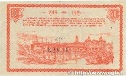 50 Centimes FRANCE régionalisme et divers MONTAUBAN 1914 JP.083.01 TTB