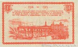 50 Centimes FRANCE régionalisme et divers MONTAUBAN 1914 JP.083.01 SUP