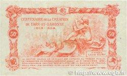 50 Centimes FRANCE régionalisme et divers MONTAUBAN 1917 JP.083.13 TTB