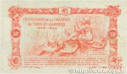 50 Centimes FRANCE régionalisme et divers MONTAUBAN 1917 JP.083.13 SUP