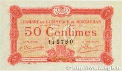50 Centimes FRANCE régionalisme et divers MONTAUBAN 1917 JP.083.13 SPL
