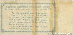 1 Franc FRANCE régionalisme et divers Montluçon, Gannat 1914 JP.084.05 B+