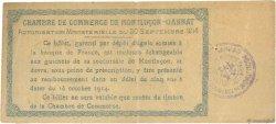 50 Centimes FRANCE régionalisme et divers MONTLUÇON, GANNAT 1914 JP.084.07 TB