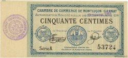 50 Centimes FRANCE régionalisme et divers Montluçon, Gannat 1914 JP.084.10 SPL