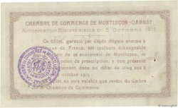 1 Franc FRANCE régionalisme et divers  1915 JP.084.15var. TTB