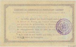 2 Francs FRANCE régionalisme et divers Montluçon, Gannat 1915 JP.084.18 TTB+