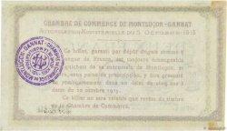 2 Francs FRANCE régionalisme et divers Montluçon, Gannat 1915 JP.084.18 pr.NEUF