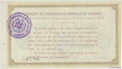 2 Francs FRANCE régionalisme et divers Montluçon, Gannat 1915 JP.084.18 NEUF
