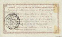 50 Centimes FRANCE régionalisme et divers MONTLUÇON, GANNAT 1917 JP.084.28 pr.NEUF