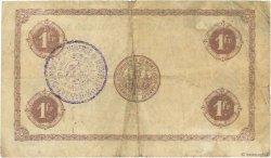 1 Franc FRANCE régionalisme et divers MONTLUÇON, GANNAT 1920 JP.084.52 pr.TB