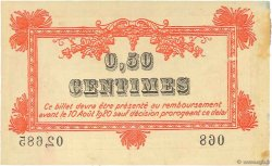 50 Centimes FRANCE régionalisme et divers MONTPELLIER 1915 JP.085.06 SUP