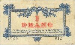 1 Franc FRANCE régionalisme et divers MONTPELLIER 1915 JP.085.10 TB