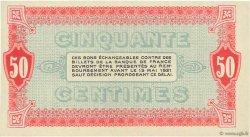 50 Centimes FRANCE régionalisme et divers MOULINS ET LAPALISSE 1916 JP.086.01 TTB+