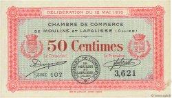 50 Centimes FRANCE régionalisme et divers Moulins et Lapalisse 1916 JP.086.01 pr.SUP