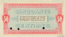 50 Centimes FRANCE régionalisme et divers MOULINS ET LAPALISSE 1916 JP.086.02 SPL
