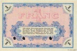 1 Franc FRANCE régionalisme et divers MOULINS ET LAPALISSE 1916 JP.086.06 SUP+