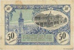 50 Centimes FRANCE régionalisme et divers MOULINS ET LAPALISSE 1921 JP.086.22 TB