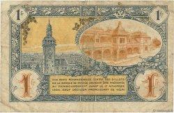 1 Franc FRANCE régionalisme et divers MOULINS ET LAPALISSE 1921 JP.086.24 pr.TB