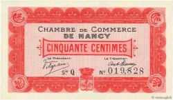 50 Centimes FRANCE régionalisme et divers NANCY 1915 JP.087.01 pr.NEUF