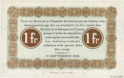 1 Franc FRANCE régionalisme et divers Nancy 1918 JP.087.21 NEUF