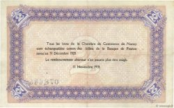 2 Francs FRANCE régionalisme et divers NANCY 1918 JP.087.25 TTB