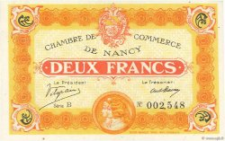 2 Francs FRANCE régionalisme et divers Nancy 1918 JP.087.25 pr.NEUF