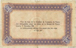 2 Francs FRANCE régionalisme et divers Nancy 1919 JP.087.34 TB