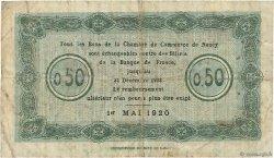 50 Centimes FRANCE régionalisme et divers Nancy 1920 JP.087.40 TB