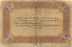 2 Francs FRANCE régionalisme et divers Nancy 1921 JP.087.52 AB