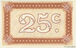 25 Centimes FRANCE régionalisme et divers Nancy 1918 JP.087.62 NEUF