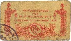 25 Centimes FRANCE régionalisme et divers NANCY 1918 JP.087.64 B