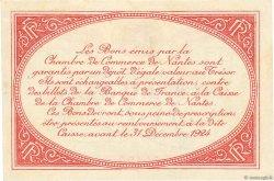 50 Centimes FRANCE régionalisme et divers NANTES 1918 JP.088.25 pr.SPL